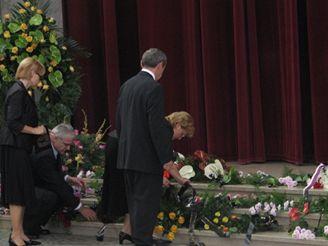 Pohřeb Marie Klausové