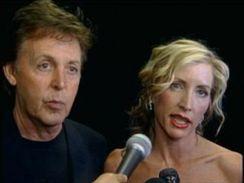 Paul McCartney s manželkou