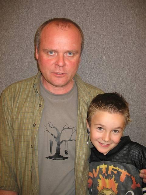 Horákovi, Igor Bareš, Marek Zeman, foto ze seriálu
