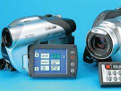 Sony DCR-DVD105E a DCR-DVD505E