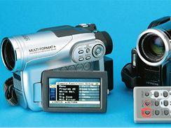 Hitachi DZ-BX35E a DZ-G3300E