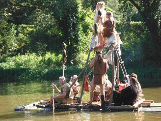 Plavba 21. stoletím - tradiční plzeňská akce, která se už sedm let koná každou druhou zářijovou sobotu