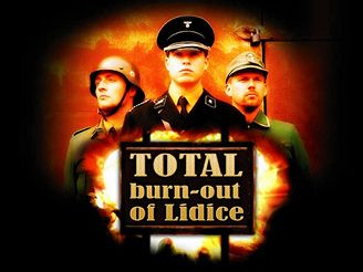 TOTAL burn-out of Lidice