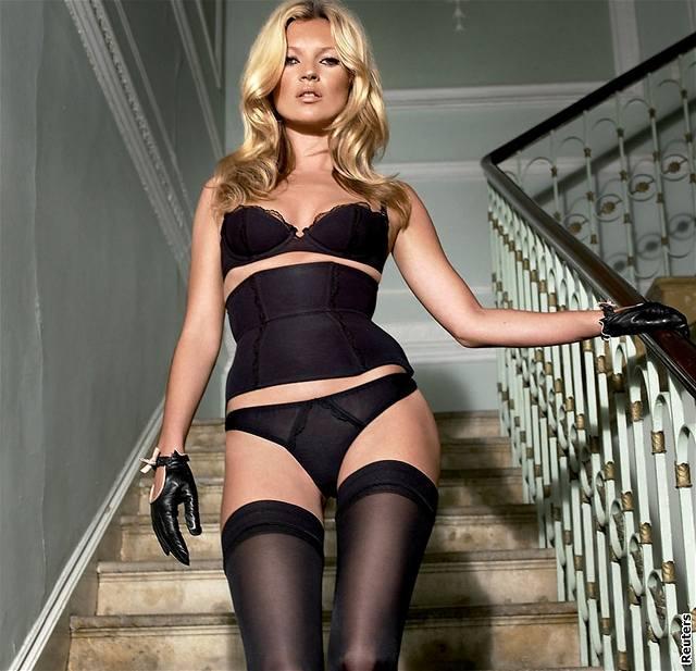 Kate Mossová v reklamě značky Agent Provocateur