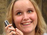 Alena Schutová, nevidomá studentka konzervatoře.