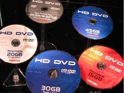 HD DVD disky