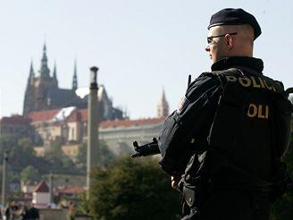 Zvýšená bezpečnostní opatření v Praze