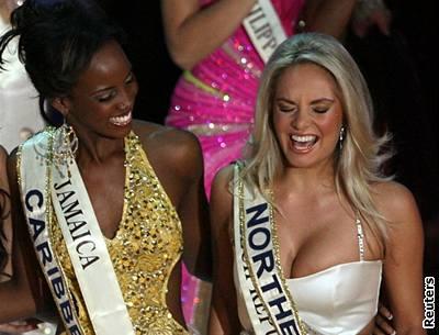 Kliknutím zobrazíte větší formát - Dojatá Miss World 2006 Taťána Kuchařová