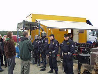 Zásah policie