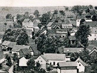 Vesnička Smrkovec, rok 1918