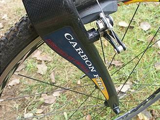 Cyklokrosové kolo, karbonová vidlice