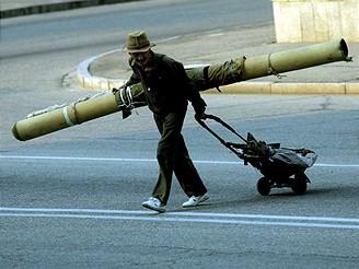 Severní Korea, obrázek z Pchjongjangu