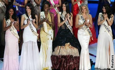 Kliknutím zobrazíte větší formát - Miss World 2006 - šest nejkrásnějších dívek světa