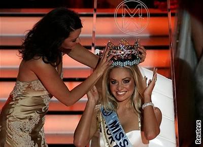 Kliknutím zobrazíte větší formát - Miss World 2006 Taťána Kuchařová