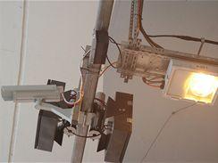 Valík - kamerový systém, akomodační osvětlení