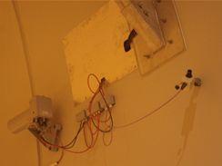 Valík - detekce proudění vzduchu