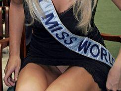 Miss World Taťána Kuchařová všem dokázala, že naostro rozhodně nechodí