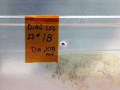 Trhlina v chladiči raketoplánu Atlantis