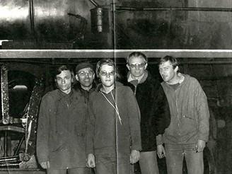 Železniční výprava do Karlových Varů v čevenci 1978