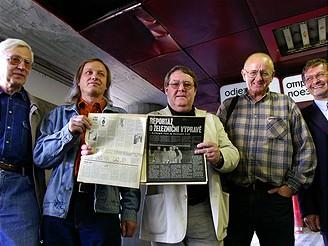 Členové Velké železniční výpravy Rudolfa Křesťana, 2006