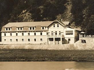 Hotel Záhoří, 1935