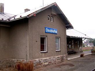 Vlaková zastávka Osoblaha