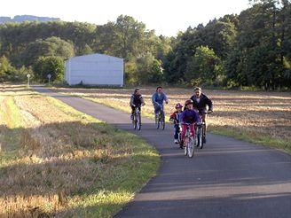 Nový cyklistický okruh TGM u Malého Poříčí