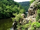 Nejzajímavější partie zelené turistické trasy pod Bílou skálou