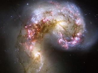 Anténová galaxie