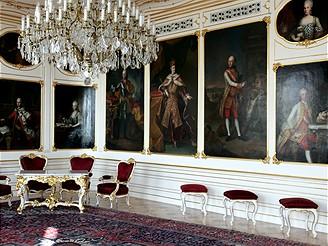 Pražský hrad, Habsburský salon