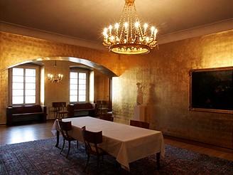 Pražský hrad, Zlatý salonek - vstup jen pro zvané