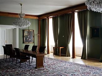 Pražský hrad, Zelený salon - jen pro zvané