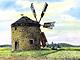 Větrné mlýny Drahanské vrchoviny