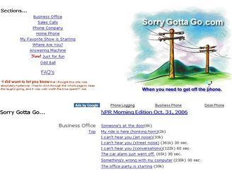 http://www.sorrygottago.com