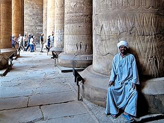 Egypt, chrámy v Edfú