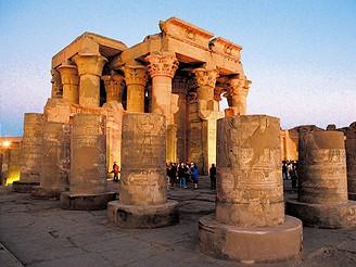 Egypt, chrám v Kom Ombu