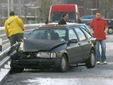 Provoz na magistrále zablokovala dopravní nehoda