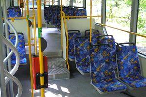 Salón pro cestující je příjemný a pohodlný