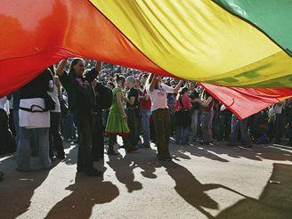 Shromáždění homosexuálů v Jeruzalémě