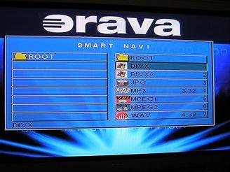 Orava DVD menu