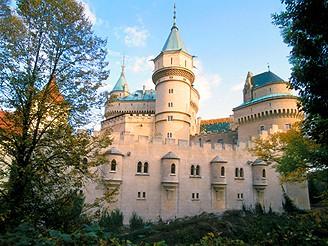 Slovensko, z�mek Bojnice