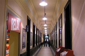 Tato chodba byla jedním znejodpudivějších míst starého nádraží