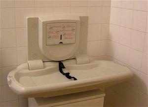 V hygienickém zázemí najdou maminky moderní prostor pro přebalení svého miminka