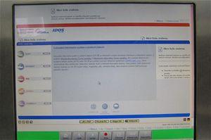 nformace zportálu www.idos.cz  můžete vyhledat vodbavovací hale na informačním kiosku sdotykovou obrazovkou, který je připojen speciálním softwarem on-line na internet