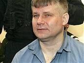 Jiří Kajínek u soudu v Plzni