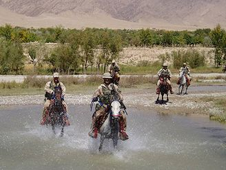 Elitní čeští vojáci v Afghánistánu.