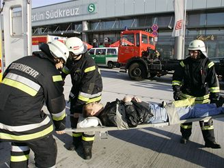 Vlaková nehoda v Berlíně