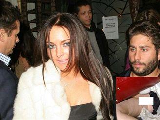 Lindsay Lohanová si opět nevzala spodní prádlo