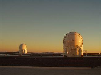 Dva menší dalekohledy pro interferometrii