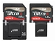 Paměťové karty - Typ SD/miniSD/microSD